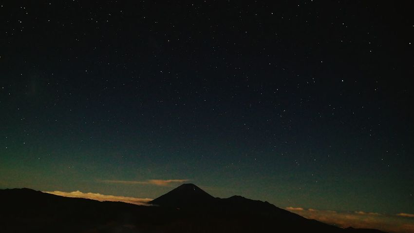 Star - Space Mountain Night Milky Way Galaxy Space Sky Landscape Mountain Range Silhouette Vulcano Bromo Stars Beauty In Nature Nature No People