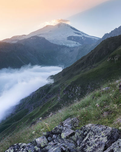 Mount Elbrus in