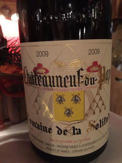 Bere Chateauneufdupape Domaine Drink Restaurant Vino Vino Rosso Wine