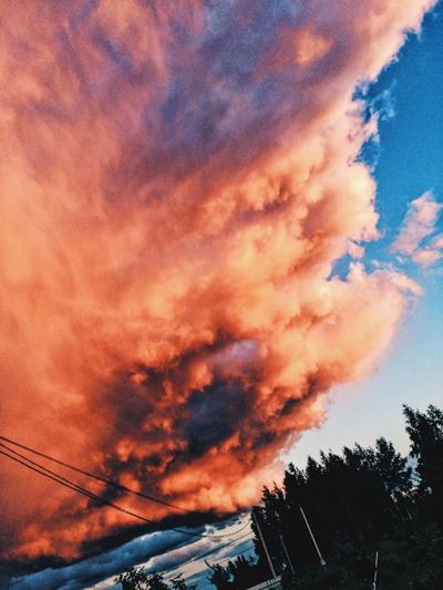 Sky Sunset Nature Cloud - Sky облака First Eyeem Photo