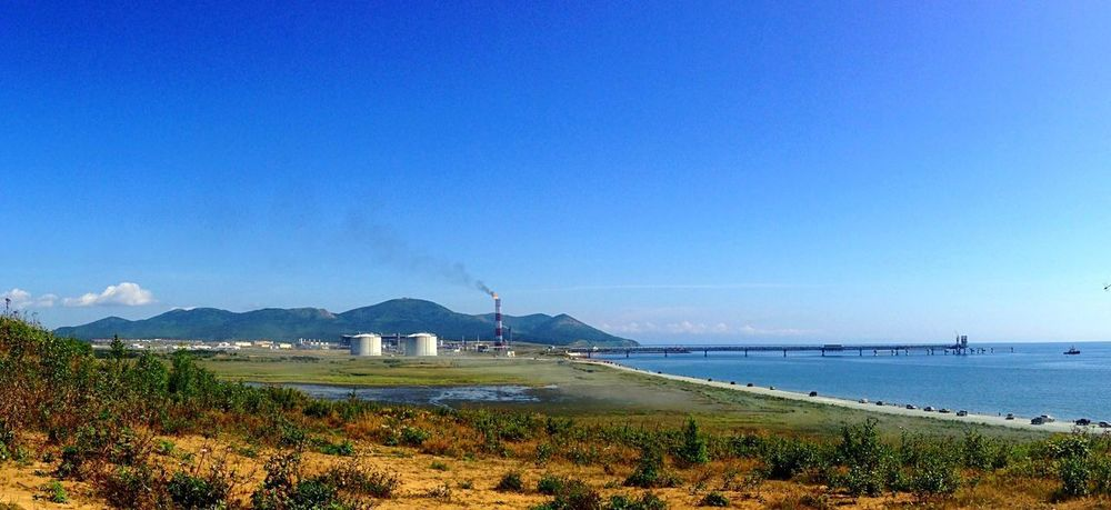 Russia Sakhalin LNG Landscape_Collection Sea And Sky Seaside