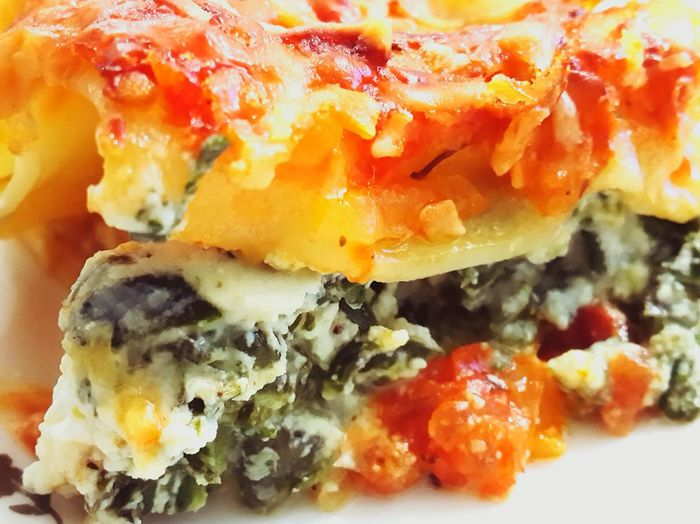 Food Porn Awards Lasagna Spinach Cheese Fresh Tomato Canalone Comfort Foods Food Foodporn Dinner Show Us Your Takeaway!