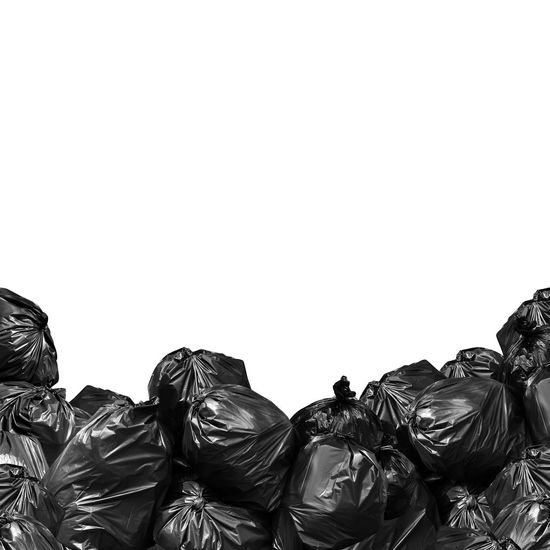 pile of garbage bag black isolated white background and copy space for banner, trash, bin, Garbage bag, pollution from rubbish bag plastic concept Garbage Dump Garbage Truck Plastic Bag Plastic Bottle Bag Copy Space Garbage Garbage Bag Garbage Bags Garbage Bin Garbage Can Garbage Disposal Plastic Plastic Bag Plastic Cup Plastic Waste Plastics Polution Recycling Waste Waste Bin Waste Disposal Waste Management Wastepaper Basket White Background