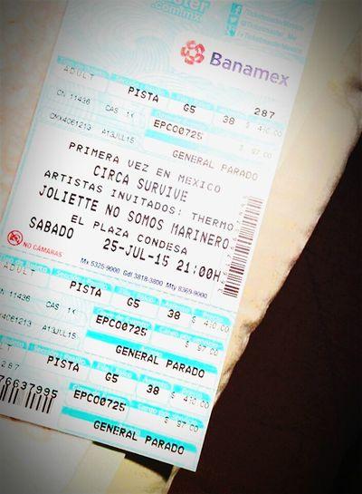 Circa Survive Circa Survive♡ Circasurvive Circa Survive 2015 Mexico