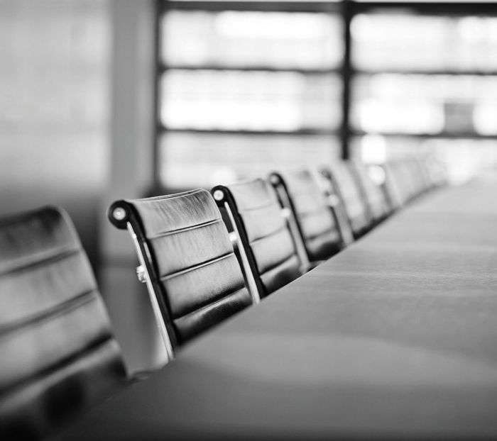 Black and white Business Meeting Business Life Close-up No People Business quiet