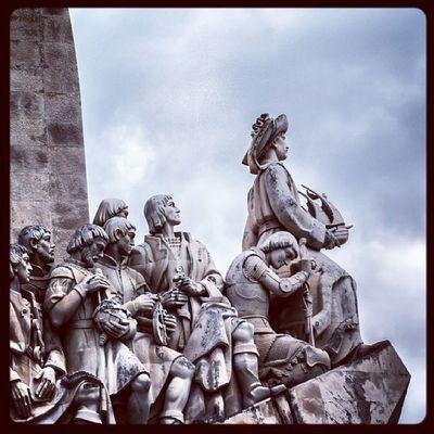 Padrao dos Descobrimentos, Belém - Lis Lissabon Lisbon Lisboa portugal portugaloteuolhar photooftheday portuguese portugal_de_sonho picsta picoftheday portugal_em_photos wu_portugal weloveportugal instamood instadaily ilovelisbon iloveportugal igersportugal instatravel belem memorial denkmal