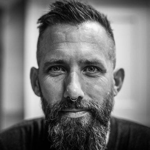 The Week On EyeEm Ross, London 2017 Beard Portrait Real People Looking At Camera Front View Human Face Focus On Foreground