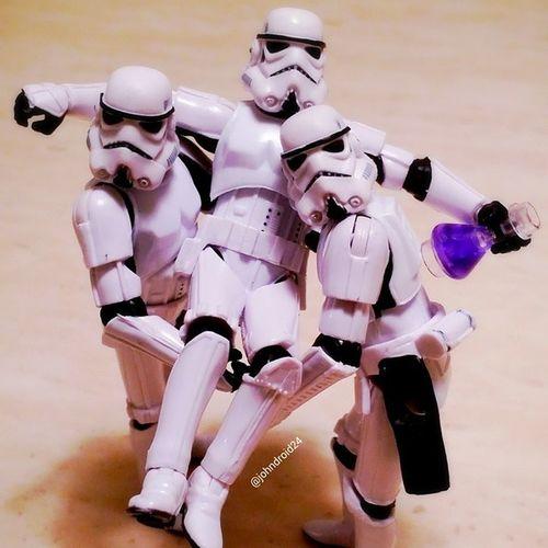 Take 2. Lebroning Starwars Stormtroopers Stormtrooper nba nbafinals lebron gatorade
