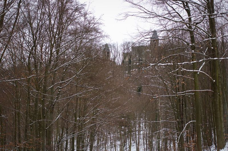Winter at Castle Frankenstein