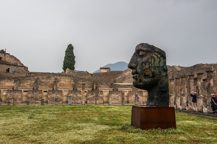 A mix of Naples, Herculaneum and Pompei A Trip to South Italy Amalfi Coast Archeology Campi Flegrei Herculaneum Landscape Naples Napoli Nature Neapel Pompeii  Vesuvio Vesuvius  Vulcano