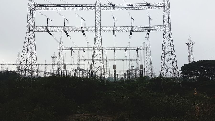 electricity power grid Bangalore No People Cable India Power Grid Elctricity Electric Grid EyeEmNewHere Power Electricity  Urban Silhouette Day Outdoors Prison