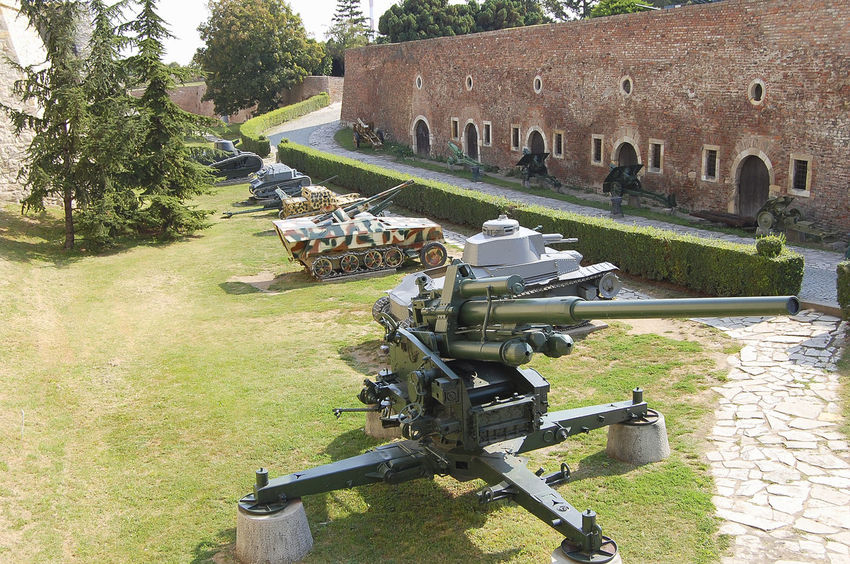 Military Museum Belgrade City Military Museum Serbia Cannon