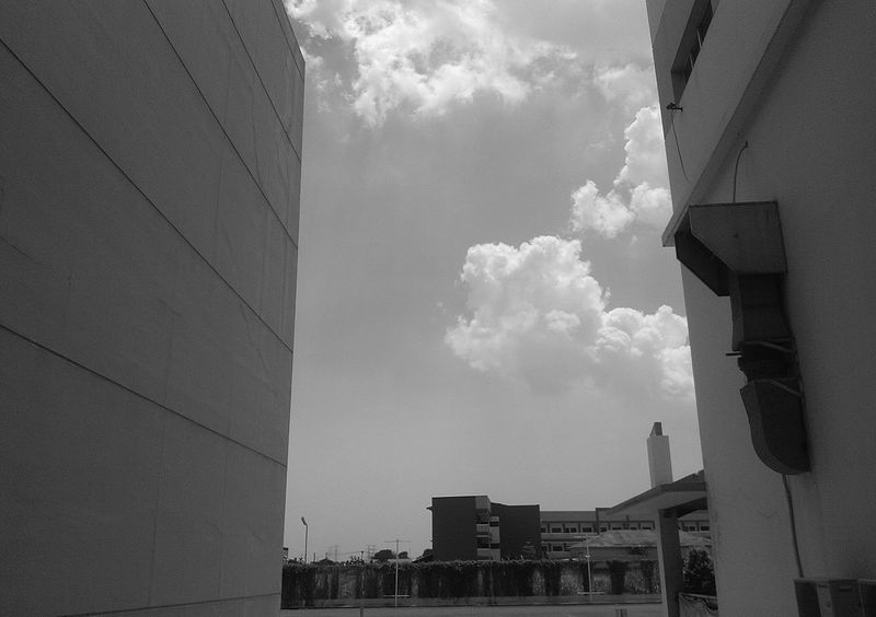 Luv Architecture Built Structure Skyscraper Building Exterior City Sky Outdoors No People Day Bekasi, Indonesia Bw_lovers Cloud - Sky