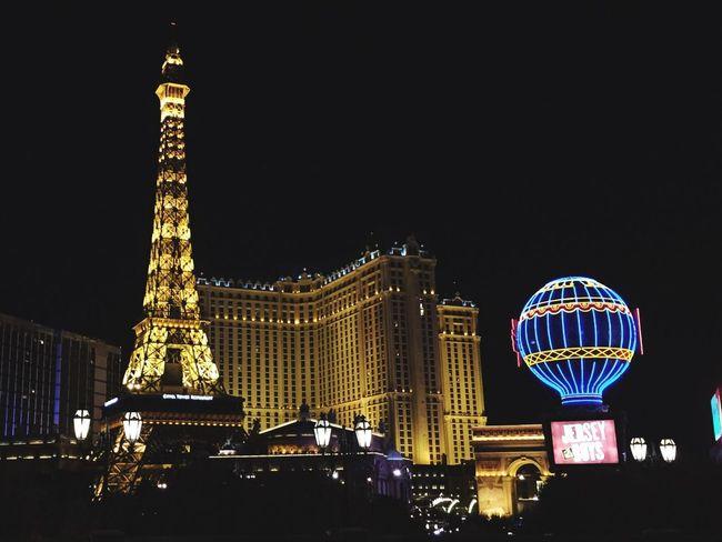 Paris París Hotel-Las Vegas, Nevada Nevada Night Light