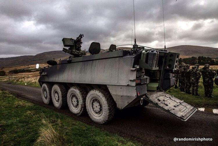 Soldiers from 47th Infantry Group due to deploy with the UN Interim Force in Lebanon (UNFIL) on excercise at Coolmoney Camp, Monday. Randomirishphotos  Ireland Army Melancholic Landscapes