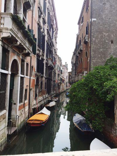 Building Exterior Mode Of Transport Built Structure Canal Venezia Day Cultures Architecture Casa Veneziana Magic Moments Venezia #venice Italy Italia Boats Flying High
