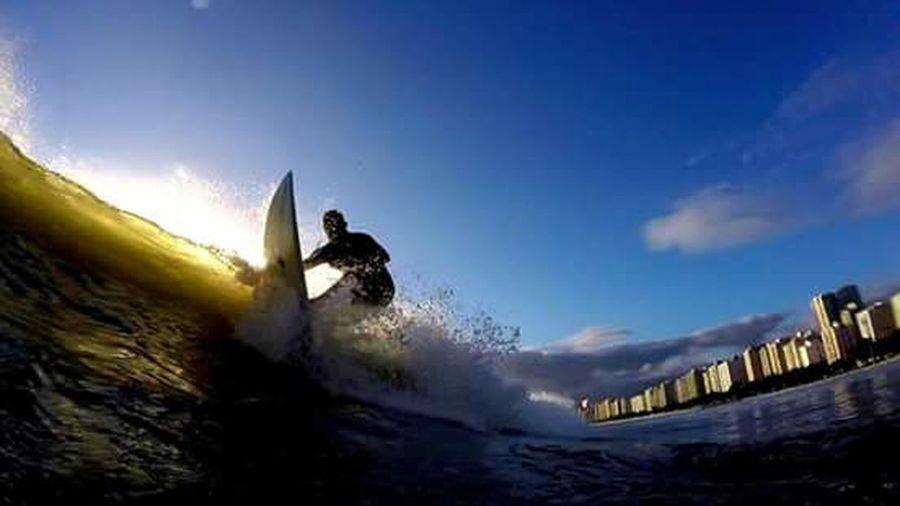 Waves ILoveWater Surf Blue Wave 18-030 Fotografiaaquatica Aloha Surf's Up Goprohero+lcd Gopro Santos