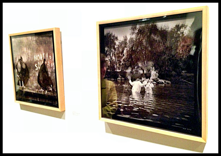 Our friend Tom Wolff had a couple in Photoworks Exhibition