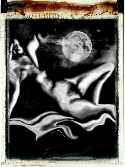 OpenEdit Photographic Approximation Surrealism Bathing In The Moonlight ...