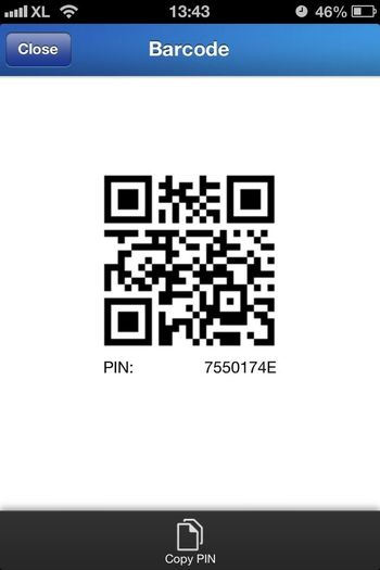 my Pin blackberry messenger for ios Taking Photos