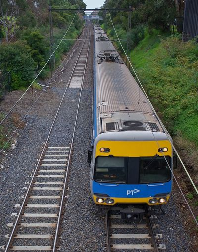 Ptv Rail Transportation Transportation Track Mode Of Transportation Public Transportation Railroad Track Diminishing Perspective Train - Vehicle Public Transport Victoria