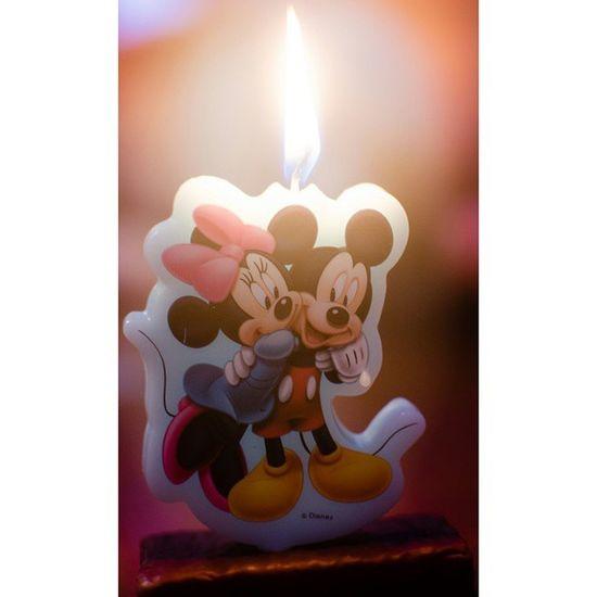 😍 Love is in the Air 😍 (😷) Wachs Kerze Flamme Kerzenschein Freunde Minnie Micky Maus Liebe Hochzeit