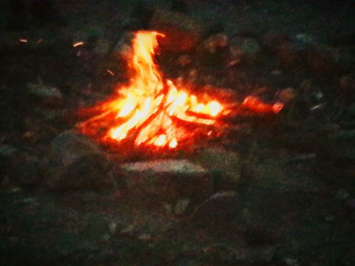 Camp Sidney Dew Campfire Circle Campfire Camping Flames Rock Adventure Camp