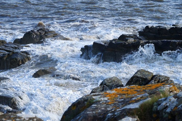 Stormy weather Ocean Sea Wave No People Rock - Object Water Nature Motion Outdoors Day Beauty In Nature Power In Nature