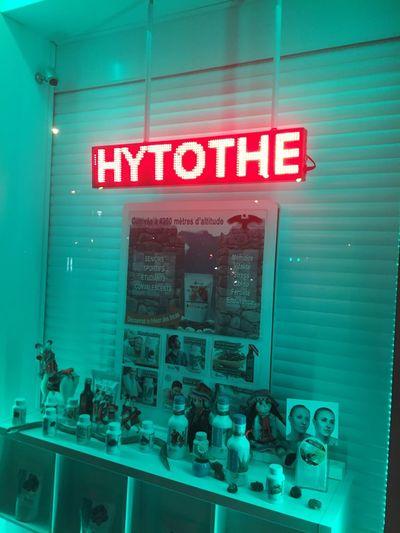 Text Communication Illuminated Indoors  No People Neon Greenish Unreal Window Store Futuristic Future Vision Future Products For Sale Paris
