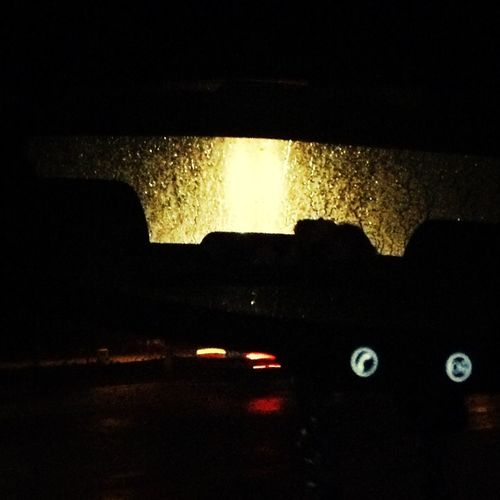 r Rearviewmirror Night Lights Pretty Taken tonight