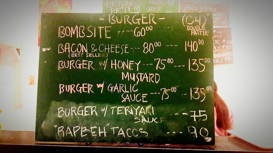 🍔😍👍👌 Foodie Foodboard Menu Board Burgers