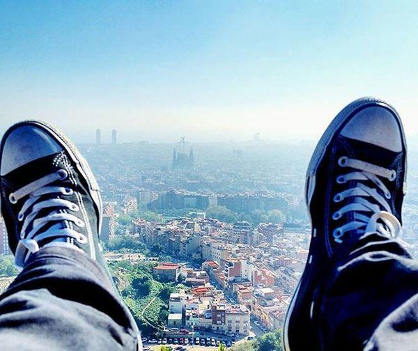 Metàfora. Converseallstar Converse Barcelona Bcn Chucktaylor