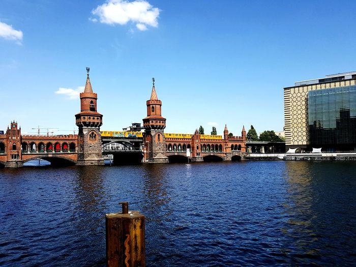 Berlin Oberbaumbrücke Spree River Water Sigths Universal Studios  Berlin Berlin Photography Berliner Ansichten Oberbaumbrücke