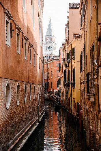 Venice Venice, Italy Architecture Water Canal Built Structure Building Exterior Building Waterfront Travel Destinations Transportation City Nautical Vessel Nature Day Bridge Mode Of Transportation No People Travel Connection Bridge - Man Made Structure Outdoors Gondola - Traditional Boat Passenger Craft