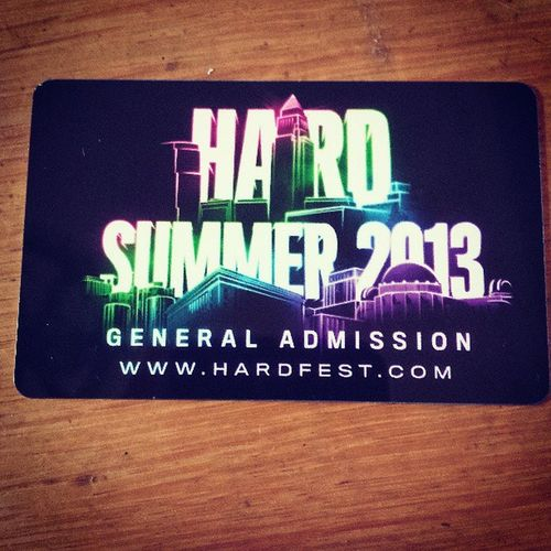 Just came in! Hardsummer