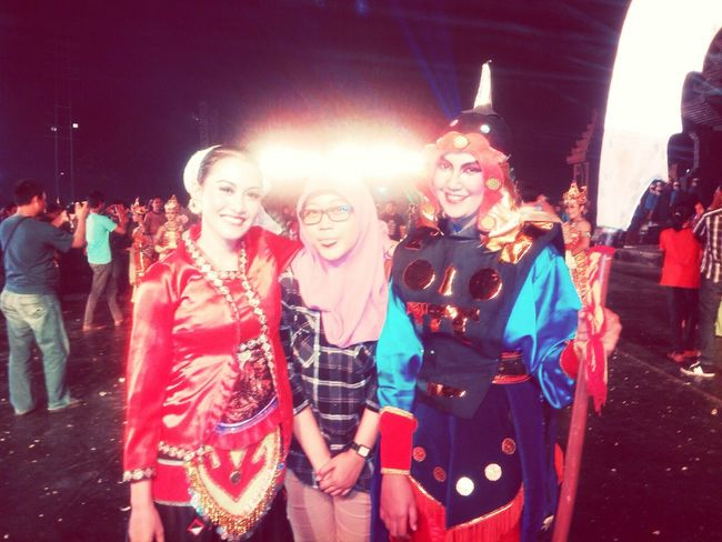 68th East Java anniversary Majapahit Traditional Dance Traditional Costume