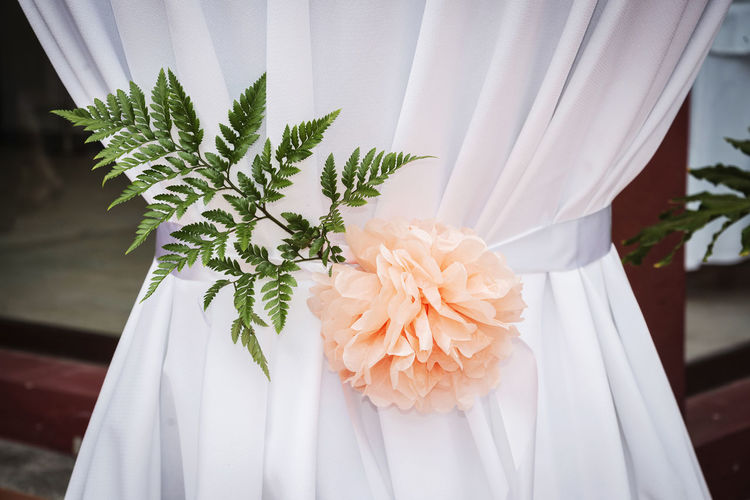 Beauty In Nature Bouquet Close-up Curtain Day Flower Flower Head Freshness Indoors  Nature No People Wedding White Color