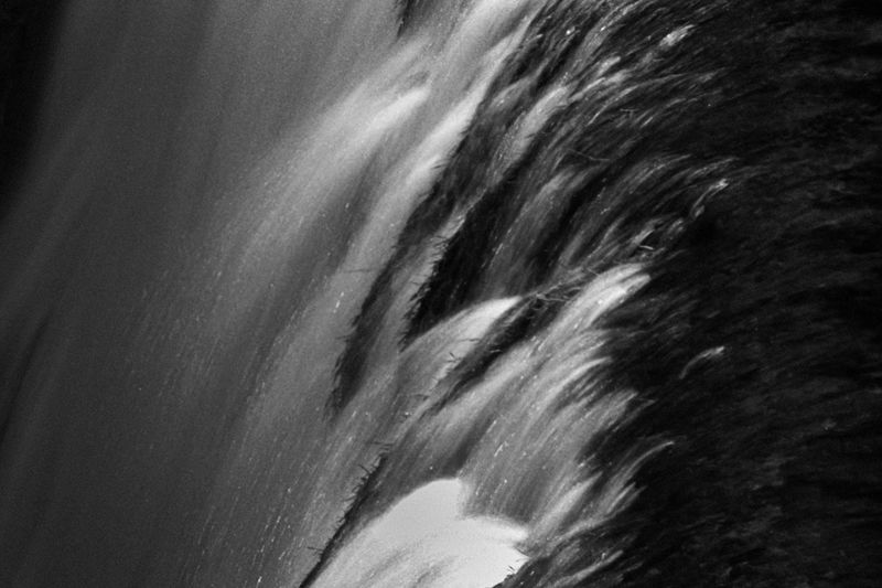 Abstract Backgrounds Blackandwhite Blurred Motion Bw Emotions Film Photography Fineart Flowing Water Landscape Monochrome Motion Mystery No People Portfolio Work Softness Water White