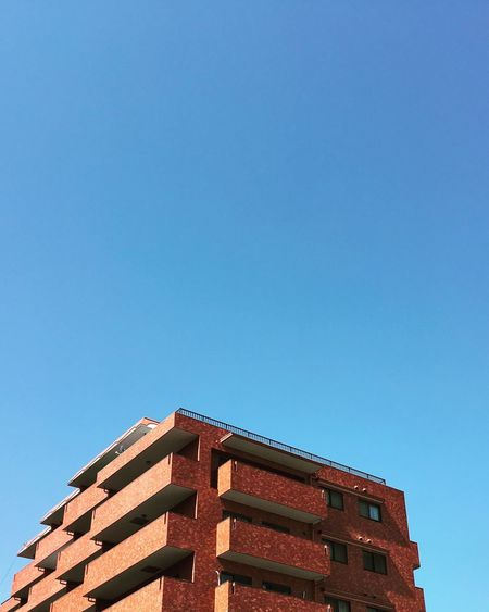 Architecture Building Exterior Clear Sky Built Structure Copy Space Low Angle View Blue No People Outdoors Day Sky