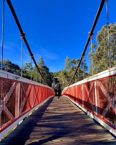 Bridge run Blue