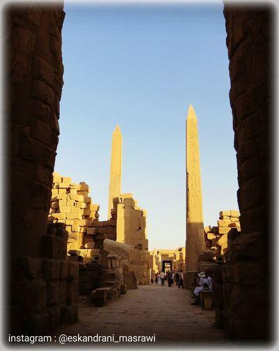 On The Way Blue Begginer Turist Egypt Luxur , Egypt Eskandrani_masrawi Pharaohs Photography Temple Places Golden First Eyeem Photo Portrait
