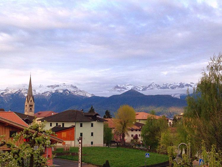 Bellissimo risveglio questa mattina... Bellissimo panorama!!!! Montagne Trentino Alto Adige Trentino  Trentinodavivere EyeEm Best Shots EyeEm Nature Lover EyeEm Gallery EyeEm Best Edits EyeEmBestPics Eyemphotography