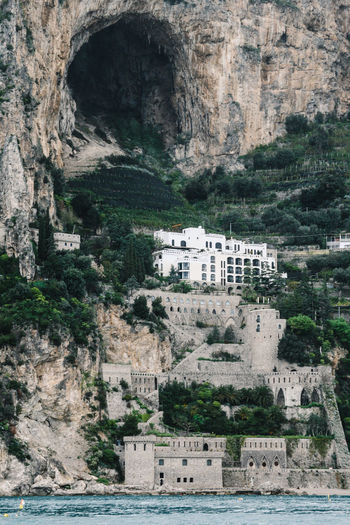 Luxury hotel on amalfi coast