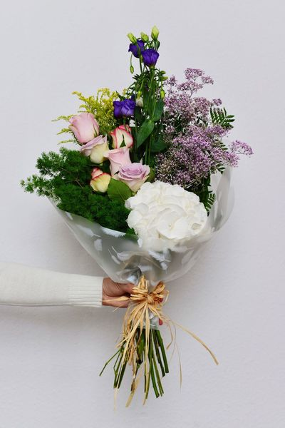 Flowers Flower Bouquet  Lovely Showcase July Cute Hydrangea Roses Pastel Power VSCO Gift Present Beautiful