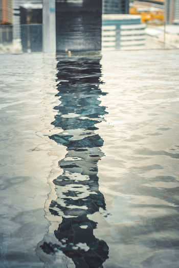 A pool Water