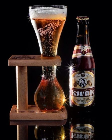 Can't wait to enjoy one of these! Belgium beer : Kwak Cheers!