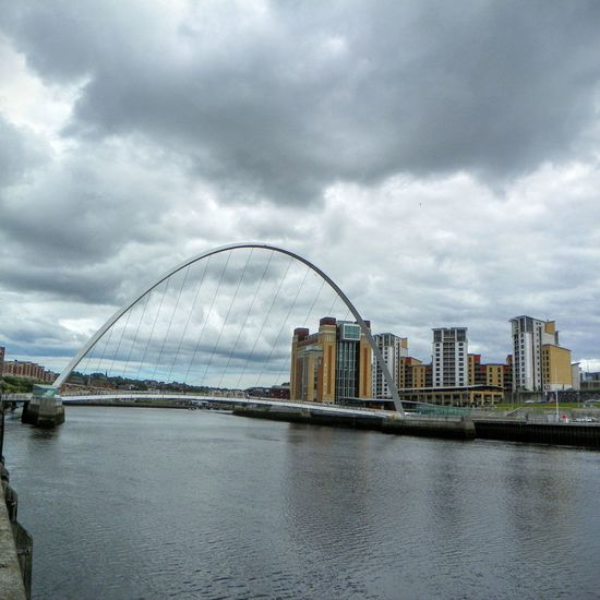 Architecture Built Structure Millenium Bridge No People River River Tyne, Tall - High Travel Destinations Urban Skyline
