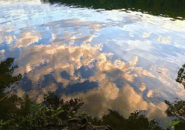 Beauty In Nature Cloud Cloud - Sky Day Lake Lake View Lakeshore Lakeside Nature No People Outdoors Reflection Reflection Reflections Standing Water Summer Summer Vibes Summer Views Summertime Tourism Tranquil Scene Tranquility Water Water Reflections Water Surface