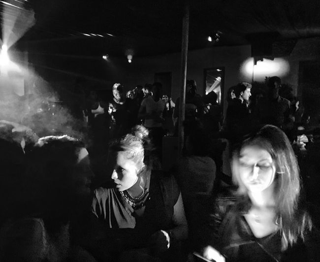 Mobile Conversations Lifestyles Celebration Nightlife Night Wireless Technology Photographing From My Point Of View Mood Captures Darkness And Light Blackandwhitephotography Urban Lifestyle Urban Photography Human Relation The Week On EyeEm