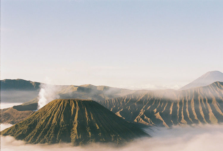 INDONESIA Java Travel Batok Beauty In Nature Bromo Indonesia_photography Landscape Mountain Nature Outdoors Semeru Sunrise Volcano Analog Filmisnotdead Carmencita Film Lab Film Photography Lost In The Landscape Landscape_Collection EyeEm Nature Lover